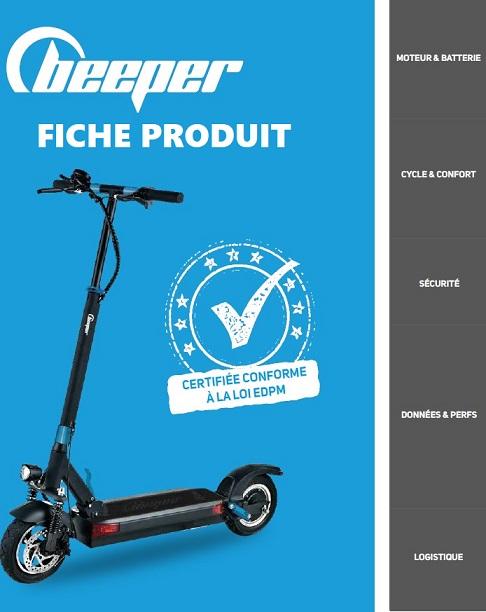 Fiche Produit Trottinette Beeper Max pdf