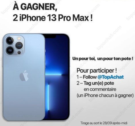 iPhone13 Pro Max concours