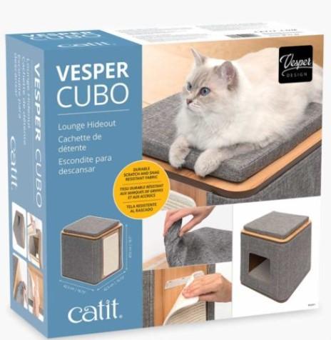 Vesper Cubo lounge pour chat